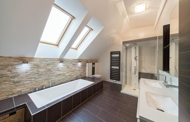 bad mit dachschr ge optimal planen schmalenberger trippstadt die badgestalter. Black Bedroom Furniture Sets. Home Design Ideas